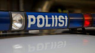 Poliisiauton kyltti