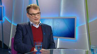 Pääministeri Juha Sipilä Ykkösaamun vierana 10. joulukuuta.