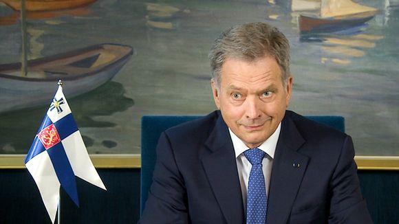Presidentti Sauli Niinistö
