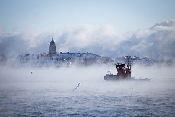 Suomenlinna merisumussa