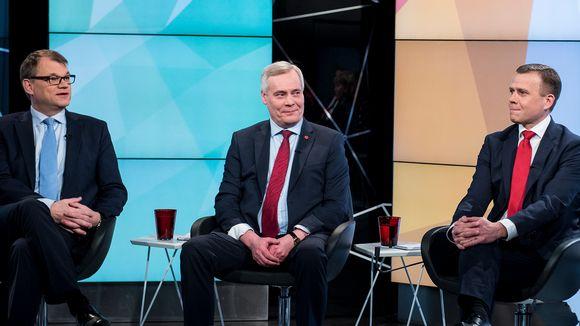 Puheenjohtajatentti Vaalit 2017 Yle