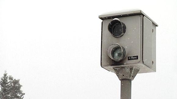 Automaattinen ylinopeuksien valvontakamera