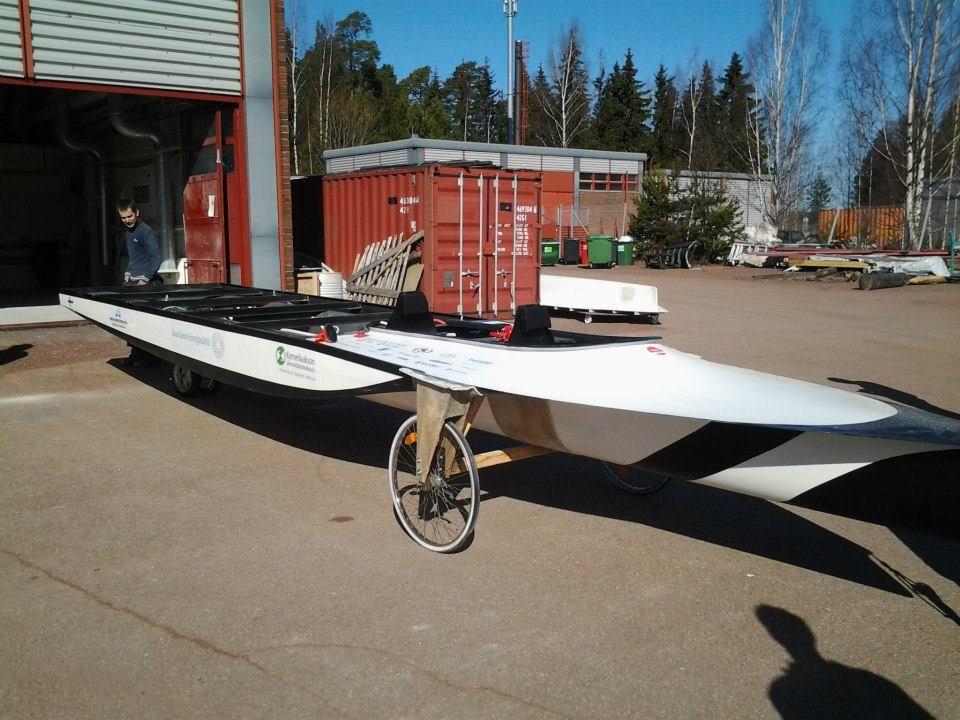 how to build a solar racer