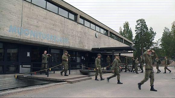 Vekaranjärven varuskuntaravintola.
