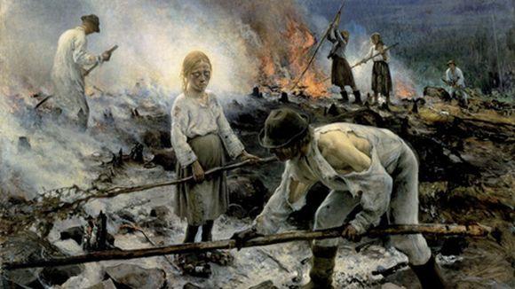 Video: Eero Järnefeltin maalaus Raatajat rahanalaiset