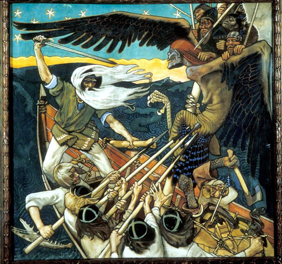 """Defence of Sampo"" -Gallen-Kallela, 1896"