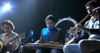 Syyrian kansallinen arabimusiikin orkesteri.