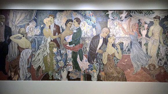 Tove Janssonin maalaus