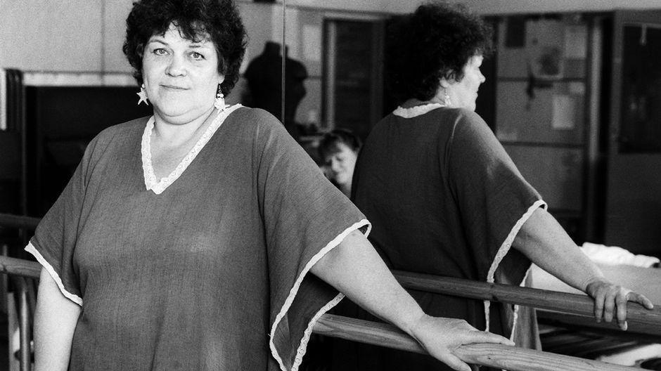 Kaisa Korhonen 1. tammikuuta 1990.