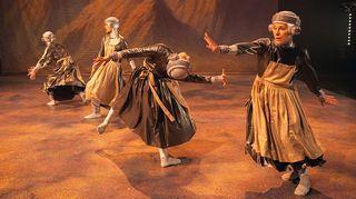 Tanssiteatterin esitys