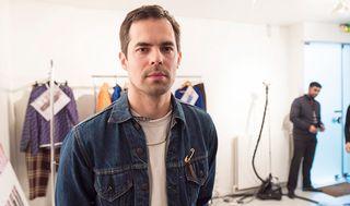 Tuomas Merikoski on työskennellyt aiemmin ranskalaisten Louis Vuitton- ja Givenchy -merkkien suunnittelijana.