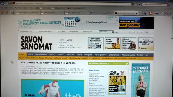 savon sanomat verkkolehti Espoo