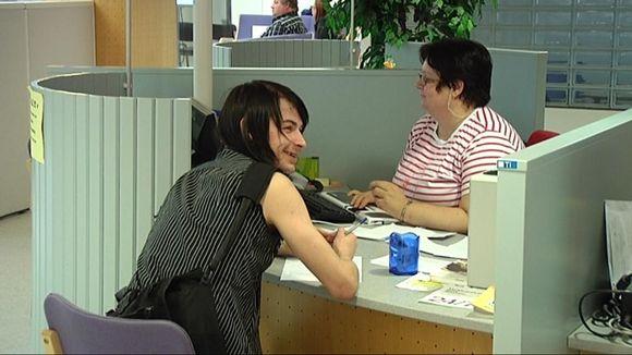 Video: Nuori työvoimatoimiston tiskillä