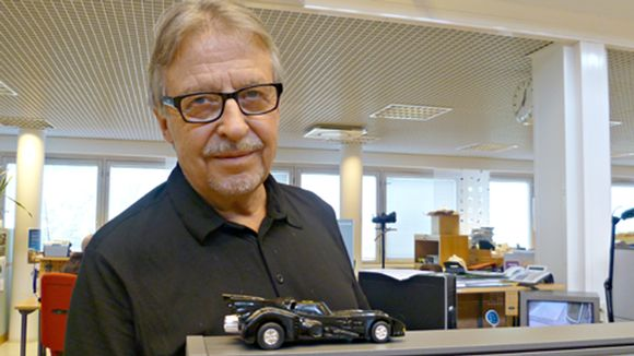 Reijo Salminen ja Batmobile.