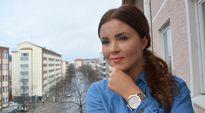 Video: Annika Ollila parvekkeella.