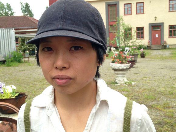 japanilainen nainen Rauma