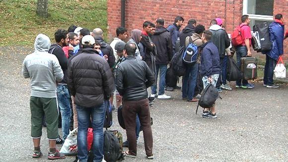 Asylum seekers Hennala.