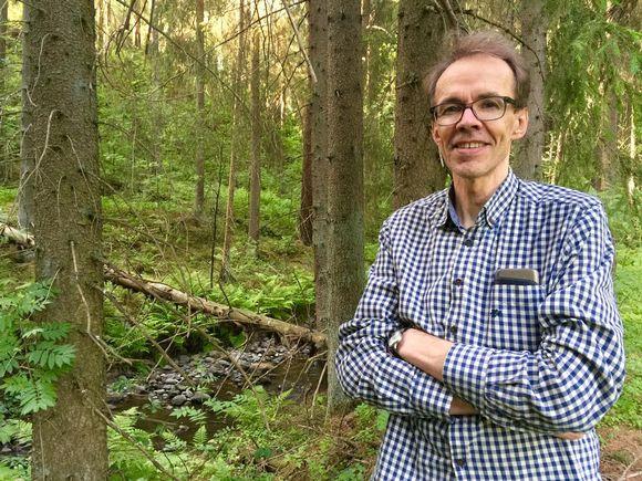 Heikki Setälä Huljalan Helvetissä Hämeenkoskella.