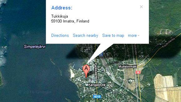 Google mapsin mukaan Parikkala on osa Imatraa.