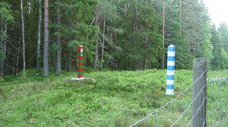 Suomen ja Venäjän raja.