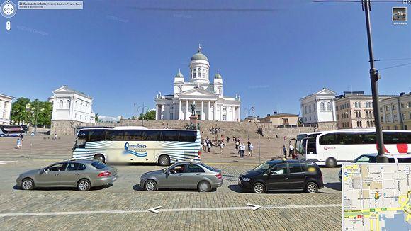 Google Maps Helsingin Suurkirkko