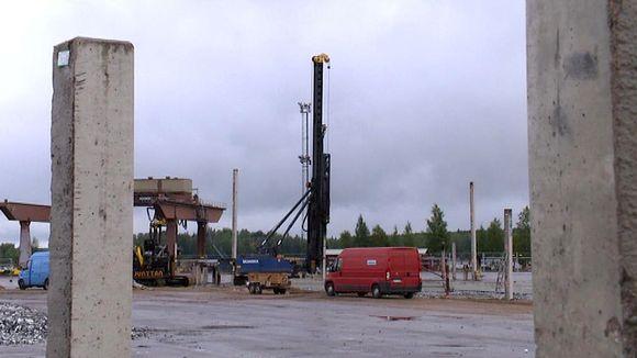 Kaukas Lappeenranta, biodieseljalostamon työmaa