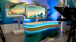 Video: Kaakkois-Suomen Yle uutisten tv-studio Lappeenrannassa