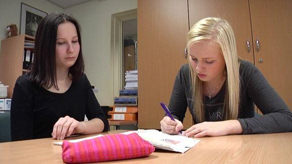 Koulu mentorointia Imatralla Mansikkalan koulussa