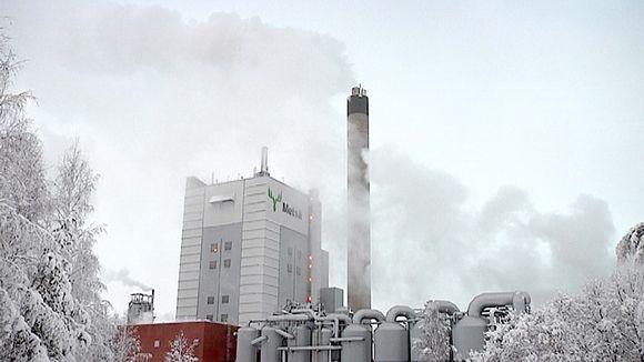 Metsä Fibren tehdas Joutsenossa.