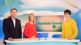 Video: Kaakkois-Suomen Yle Uutisten juontajat Mikko Hirvonen, Milla Madetoja ja Salla Paajanen
