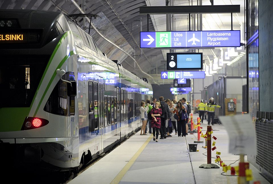 Tourists baffled by new rail line from Helsinki; stunned to find airport not in capital | Yle ...