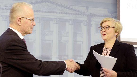 Lauri Tarasti ja Anu Vehviläinen