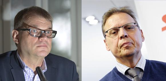 Juha Sipilä ja Lauri Lyly