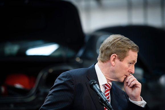 Irlannin pääministeri Enda Kenny.