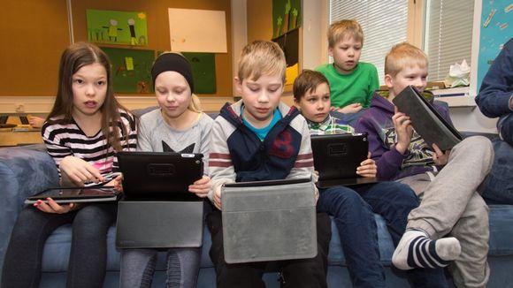 Rantakylän yhtenäiskoulu, ipad koulutus