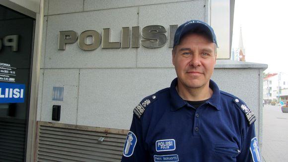 Poliisi Petri Isokuortti Mikkeli