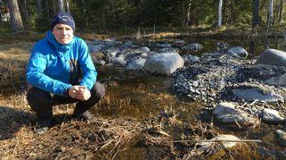 Etelä-Savon ELY-keskuksen vesistöasiantuntija, hydrobiologi Antti Haapala.