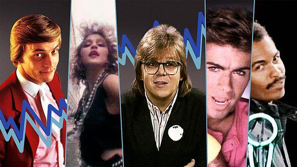 Video: Hittimittarin kuvakombossa seikkailevat Timo T. A. Mikkonen, Madonna, Mikko Alatalo, Wham:in George Michael sekä Ray Parker Jr.