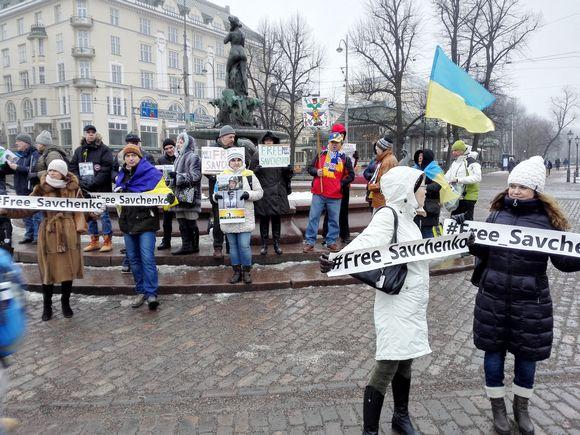Видео: savchenko mielenosoitus