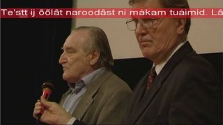 Váralašvuođadieđáhus sámegillii tv:s.