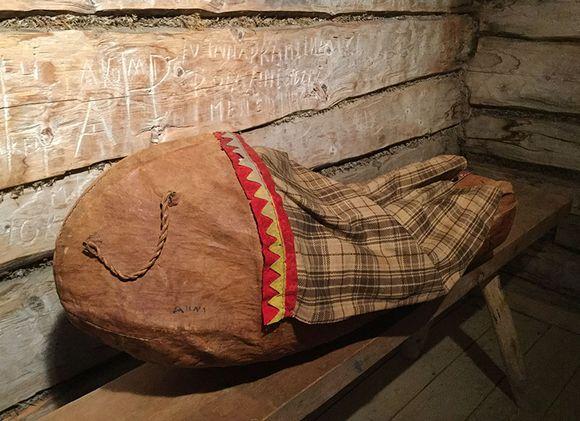 Hämeenlinna gávpotmusea sámedávvirčoakkáldaga 1800-logu gietkka