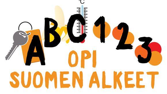 Suomen kielen alkeet -sarja alkaa aakkosista ja numeroista.