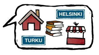 Suomen kielen alkeet.