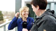 Kati Jurkko ja Hanna Juopperi tekevät radio-ohjelmaa.