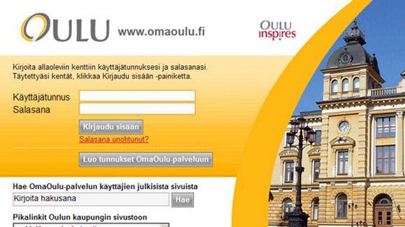 Oulun kuntalaisportaali Omaoulu palkittiin.