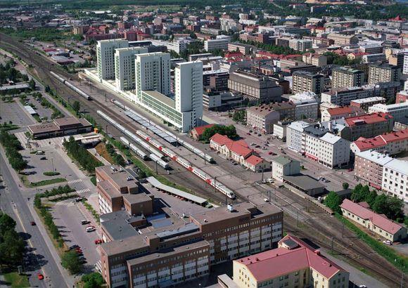 Oulun matkakeskus muuttuikin korkeiksi tornitaloiksi  Yle Uutiset  yle fi