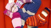 Kauniin värisiä sukkia