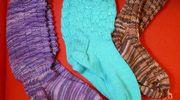 M-L Ryhänen lähetti keräykseen kolme paria sukkia