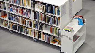 Kastellin kirjasto Oulussa.
