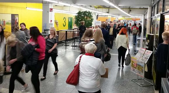 Oulun yliopiston abipäivä Linnanmaan kampuksella 2015.